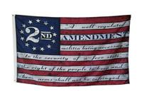 100шт 2-й поправка Винтаж Американский большой открытый баннер на заказ 3x5ft