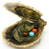AAAA 6- 7mm round Akoya triplets pearl in oysters 1 # 2#and 3...