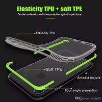 Shockproof Transparent Case For iPhone 8 Plus iPhone x Soft ...