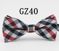 2018 high- grade grid bow tie stage tie Male or female bow ti...