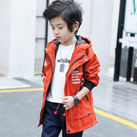 Baby Spring Clothes Autumn Windbreaker Kids Jacket Boys Fashion Baby Outerwear Coats Boys Kids Hooded Children Clothing
