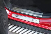 Alféizares de la puerta de acero inoxidable de alta calidad 8pcs placa protectora del pedal de protección para Dodge Journey 2011-2016