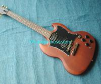 Beste neueste Gewohnheit Brown SG elektrische Gitarre sehr Schönheit geben Musikinstrumente des Verschiffen-frei