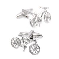 SAVOYSHI 패션 실버 컬러 자전거 Bottons 남성용 박스 액세서리 프랑스어 셔츠 구리 자전거 커프스 단추 브랜드 도매 쥬얼리