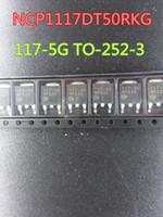 20pcs / lot novos Circuitos integrados NCP1117DT50RKG 117-5G TO-252-3 no transporte free