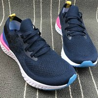 370a04ffb056 nike flyknit free run Running Shoes 2018 alta qualidade Epic React Running  Shoes Mulheres Homens Sapatilhas