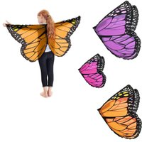 Children Scalewing Wings Style Clothes Butterfly Cape for Ki...