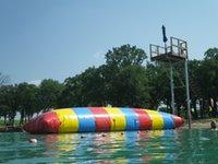 9m * 3m InflaTable المياه المنجنيق Blob The Blob نفخ لعبة الماء Blob Jump للبيع