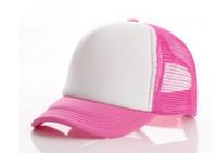 Высококачественные равнинные дети бейсболка шапки пользовательских логотипа дети пустые грузовики шапки регулируемые привязки прививка шапки прививка
