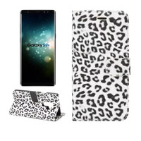 Sexy leopard print Leather Case For Samsung Galaxy S9 Wallet...