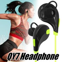 Bluetooth Earphone QY7 Wireless Headset Stereo Sport Headpho...