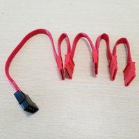 IDE Molex 4Pin к SATA 15Pin Адаптер с 1 по 5 Разветвитель Жесткий диск Кабель-удлинитель 18AWG Красный для ПК DIY