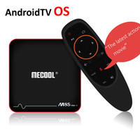 Mecool M8S Pro W Android 7.1 Smart TV Box Google Voice Control TV Box Amlogic S905W Quad Core 2G 16GB AndroidTV OS 4K Mini PC Wifi Stalker
