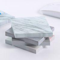 МИНИ портативные блокноты цвета мрамора липкие заметки Блокнот липкие блокноты Школьный офис дома отмечает поставку