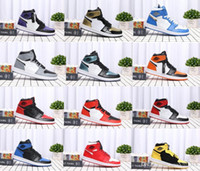1s OG top 3 Banned Bred Red Chicago OG Royal Mid hare Mens B...