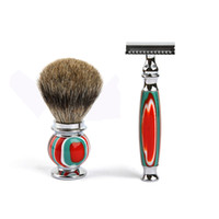 New Men' s Manual Shaver Wet Shaving Set Double Edge Raz...