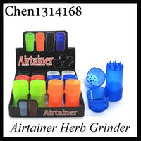 Newest Airtainer 2 in 1 Herb Grinder Container Herb Tobacco ...