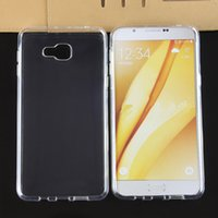 50pcs Funda de cojín de aire para Samsung Galaxy A3 A5 A7 A8 A9 A9 Ultra claro Transparente TPU suave contraportada