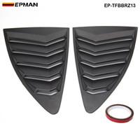 EPMAN - filiz FRS Subaru BRZ 13-18 Stil ABS Arka Yan Pencere Panjur Çeyrek Pencere Paneli EP-TFBBRZ13 için