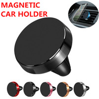 Aluminum alloy Car Mount Mini Air Vent Magnetic Car Holder f...