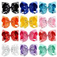 Jojo Unicorn baby girl accessories Series Hair bows 12colors...
