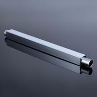 Massima qualità bagno doccia soffioni estensione 34 centimetri Mayitr doccia spruzzatore tubo fisso in acciaio inox bagno strumenti