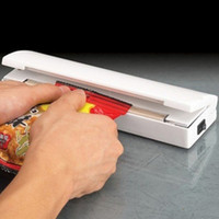 Portable Hushåll Mini Värmeförseglingsmaskin Keramikimpuls Sealer Seal Packing Caper Plastpåse Matförseglare
