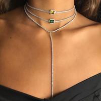 новоприбывшая свадьба engaegment свадебного колье бриллиантового ожерелья теннис CZ цепь модной великолепная элегантность леди ювелирных изделия