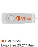 Toplu 50 adet 8 GB Baskılı Özel logo USB 2.0 Flash Sürücü Metal Döner Kazınmış Kişiselleştirin Adı Memory Stick Kalem Sürücü Bilgisayar Macbook