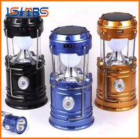 New Style Portable Outdoor LED Camping Lantern Solar Collaps...