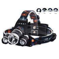 NUOVO 5000 lumen 3x XM-L 3T6 LED luce della bici faro torcia testa per la caccia campeggio XML T6 LED faro