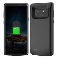 caso del caricatore Vendita calda per Samsung Galaxy Note 9 Custodia della batteria 5000mAh Battery Charger Power Bank pacchetto caso di ricarica