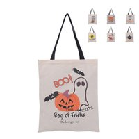 Halloween Sacks Bag Canvas Personalized Children Candy Gifts...