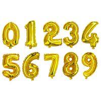 الألومنيوم احباط بالون 16 بوصة العربية عدد 0 إلى 9 ل حفل زفاف عيد الميلاد الديكور الأزياء نفخ البالونات الهدايا 0 42zz yy