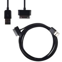 USB-data Synkronisering Laddare Kabel Laddledning för Samsung Galaxy Tab 2 Tablet P739 P1000 P7500 P6800 P7300 N8000 Not 10.1