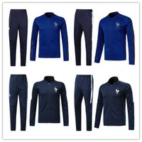 France tracksuit full zipper Football jacket 2018 World Cup ...
