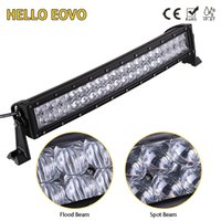 HELLO EOVO 5D 22 inch Curved LED Light Bar for Work Driving ...