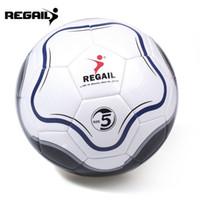 حجم REGAIL 5 بو زهرة شكل تدريب كرة القدم كرة القدم نفخ كرة القدم الهدف داخلي الكرة معدات الرماية لعبة رياضية للبيع