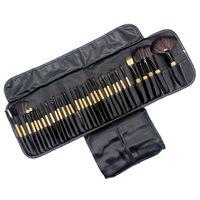 32 Pcs Pincéis de Maquiagem Profissional Macio Cosméticos Make Up Brush Set Kabuki Fundação Escova Batom Beleza Ferramentas maquillaje
