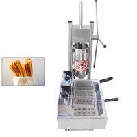 NP-283 Máquina comercial de churros de 5L con 12L Fryer eléctrico Español Churros Maker Equipo de refrigerio popular Churro Making Machine