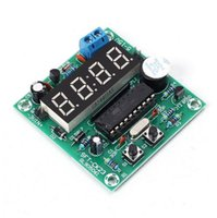 Livraison gratuite! 1 pc / lot 4.5-12V multi-fonction 4 bits numérique horloge électronique tableau de commande de chronométrage en temps réel 4 bits LED chiffre affichage