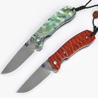 남자 1PCS 피닉스 스위스 다마스커스 분말 스틸 60-61HRC 사냥 캠핑 나이프 크리스마스 선물