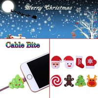 Christmas Cable Bite Data line Protector Winder Earphone Cor...