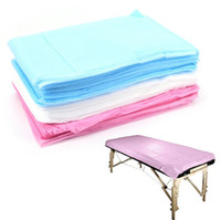 Disposable Medical Massage especial Non-Woven Cama Pad Beauty Salon SPA Folha Dedicado Bed 80 * 180 centímetros