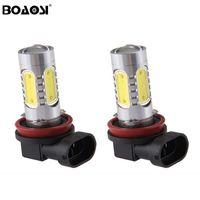 Super Bright H11 / H8 9006 / HB4 Fendinebbia LED per luci auto COB LED 7.5W Daytime Running Light