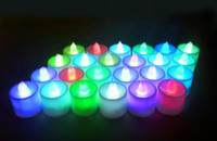 Free shipping Wholesale 24pcs per box flashing led candle li...