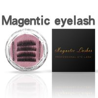 Two Three Magnet 3D Magnetic False Eyelashes Natural Hand- ma...