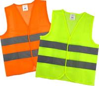 Kostenlose DHL Hohe Sichtbarkeit Sicherheit Sicherheitsweste Jacke Reflexstreifen Arbeitskleidung Uniformen Kleidung LLFA