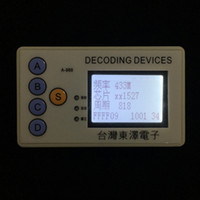Car key remote control code scanner can be customized accord...