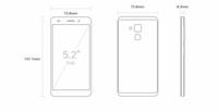 Original Huawei Honor 5C 4G LTE-Handy Kirin 650 Octa-Core 3 GB RAM 32 GB ROM Android 5.2 Zoll 13MP Fingerabdruck-ID intelligentes Handy